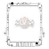 Radiator-1 Row Plastic Tank Aluminum Core CSF 3242