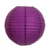 "20"" Round Paper Lanterns - Plum Purple"