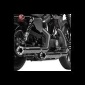 Cobra Race Pro Black Slip-On Mufflers