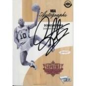 Autographed San Antonio Spurs Dennis Rodman Game Used Supreme Hard Court - Upper Deck