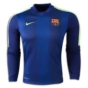 Nike Barcelona Long Sleeve Thermal Prematch Top 14/15 XXL