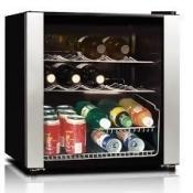 Midea WHS-64W1 16 Bottle Beverage Cooler - Black