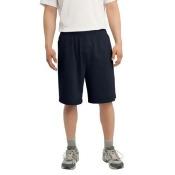 Sport-Tek ST310 Jersey Knit Shorts with Pocket, True Navy - Extra Large