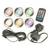 Paradise Garden Lighting LED Multi Color Deck Light - Set of 6
