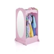Guidecraft Dress Up Cubby Center Pink - Armoire, Dresser Kids' Furniture