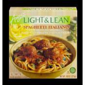 Amy's Vegan Light & Lean Spaghetti Italiano made with Organic Ingredients, 8 Oz (Frozen)