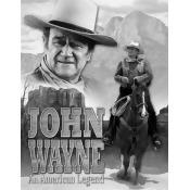 John Wayne American Legend Movie Tin Sign 13 x 16in