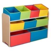 Deluxe Multi-Bin Toy Organizer with Storage Bins by Delta Children
