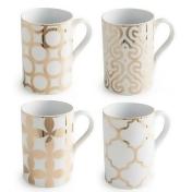 Rosanna Luxe Moderne 11 oz. Mug Set