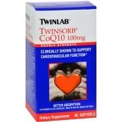 Twinlab Twinsorb Coq10 - 100 Mg - 45 Softgels