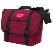Manhattan Portage Waxed Canvas Messenger Bag - Medium Red - Manhattan Portage Messenger Bags