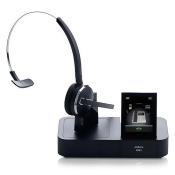 Jabra PRO 9470 Mono PeakStop Technology Wireless Headset for Computer, Cell & Desk Phones