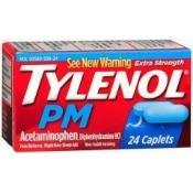 Tylenol PM Extra Strength Caplets - 24 ct