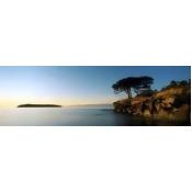 Sandstone Islet Near Silva Bay, Gabriola Island, British Columbia, Canada PosterPrint