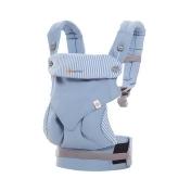 Ergobaby Four Position 四式 360 嬰兒揹帶 (9款) 香港行貨 (可連護墊) - 蔚藍直紋 / 不配護墊