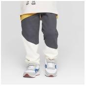 Genuine Kids from OshKosh Toddler Boys' Colorblock Jogger Pants - Gray/Yellow 18M