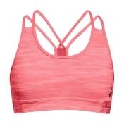 Girls 7-16 Under Armour HeatGear Printed Sports Bra, Size: Small, Med Orange