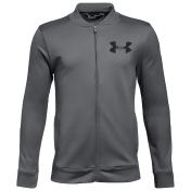 Boys 8-20 Under Armour Pennant Jacket, Size: XL, Silver
