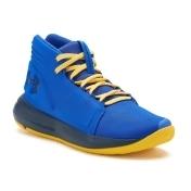 Under Armour Torch Mid Grade School Boys' Basketball Shoes, Size: 6.5, Dark Blue