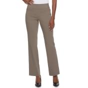 Women's Apt. 9® Brynn Midrise Pull-On Bootcut Dress Pants, Size: 16 T/L, Dark Beige