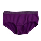 Girls 4-16 Maidenform Seamless Girlshort Panties, Size: Large, Drk Purple