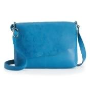 ili Cheyenne Leather Crossbody Bag, Women's, Blue
