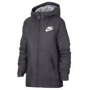 Boys 8-20 Nike Fleece-Lined Jacket, Size: Small, Dark Grey