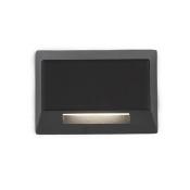 Black LED Two-Inch Low Voltage Landscape Deck and Patio Light, 3000 Kelvins