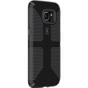 Speck CandyShell Grip Samsung Galaxy S7 edge Cases Black/Slate Grey
