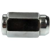 Wheel Nut Chrome Duplex Acorn M14-1.50, Hex 7/8 Inch Length 1.867 Inch (Quantity 4)