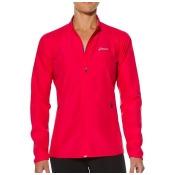 Asics Woven Womens Running Fitness Jacket Coat Pink