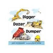 Penguin Random House Digger, Dozer, Dumper