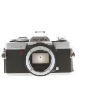 Minolta XG-9 Chrome 35mm Camera Body - As Is