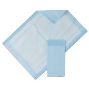 Protection Plus Disposable Underpads, 17 X 24, Blue, 25/bag