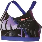 Nike Sports Bra Girls, Rush Violet, Large