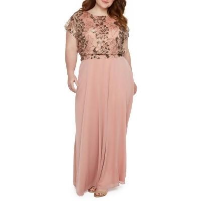 875f3afd024 Blu Sage Short Sleeve Evening Gown