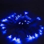 Aleko Products 50 LED Solar Powered String Lights Blue