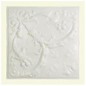 Great Lakes Tin Saginaw Gloss White 2-foot x 2-foot Nail-Up Ceiling Tile (Carton of 5)
