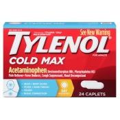 Tylenol Multi-Symptom Caplets for Adults, 24 ea