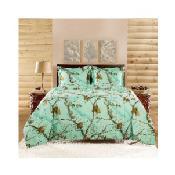 Realtree Camo Comforter Set (Green)