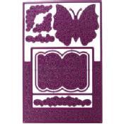 Cheery Lynn Designs Die-Fancy Step Card A2, 5.5