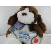 Plush Shining Stars Stuffed Puppy Dog