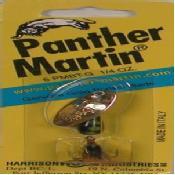 Panther Martin Bucktail Spinner, Gold