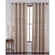 Cannon Como Jacquard Grommet Curtain Panel - Cannon